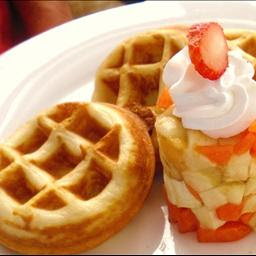 Christmas Overnight Waffles Recipe