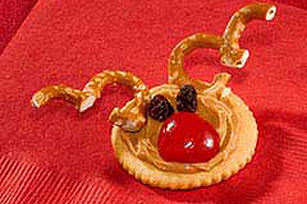 Christmas Reindeer RITZ Recipe