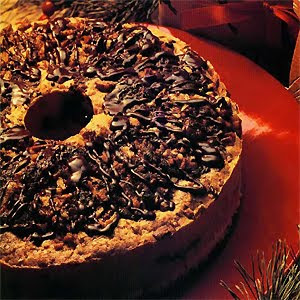 Christmas Chocolate Sour Cream Coffee Cake