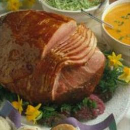 Baked Ham with Honey Apricot Glaze