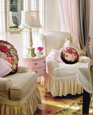 Linen slipcovers for wing chairs