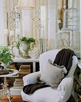 Shabby French Slipcover