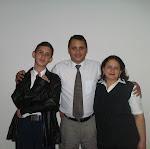 Israhel, Márcio e Geralda
