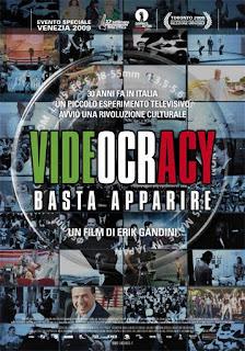Videocracy, basta apparire, Gandini, manifesto
