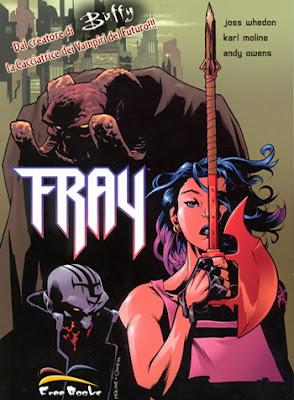 Fray, il fumetto