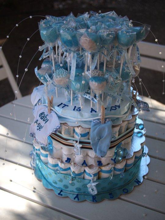 Easy Baby Shower Cake Designs