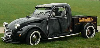 2cv pick up rocketgarage cafe racer magazine. Black Bedroom Furniture Sets. Home Design Ideas