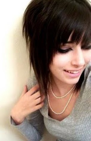 cute hairstyles for girls with short hair. Short Emo Hairstyle for Girls