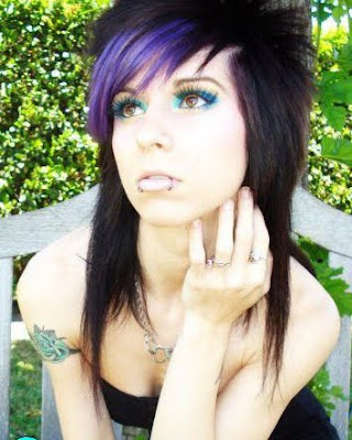 Trendy Medium Length Emo Hairstyles