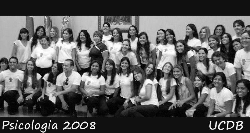 Psicologia 2008 -  UCDB