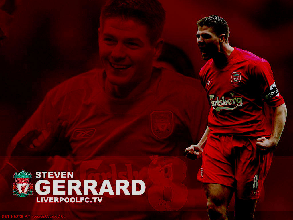 Steven Gerrard Wallpaper | Liverpool Wallpaper Gallery