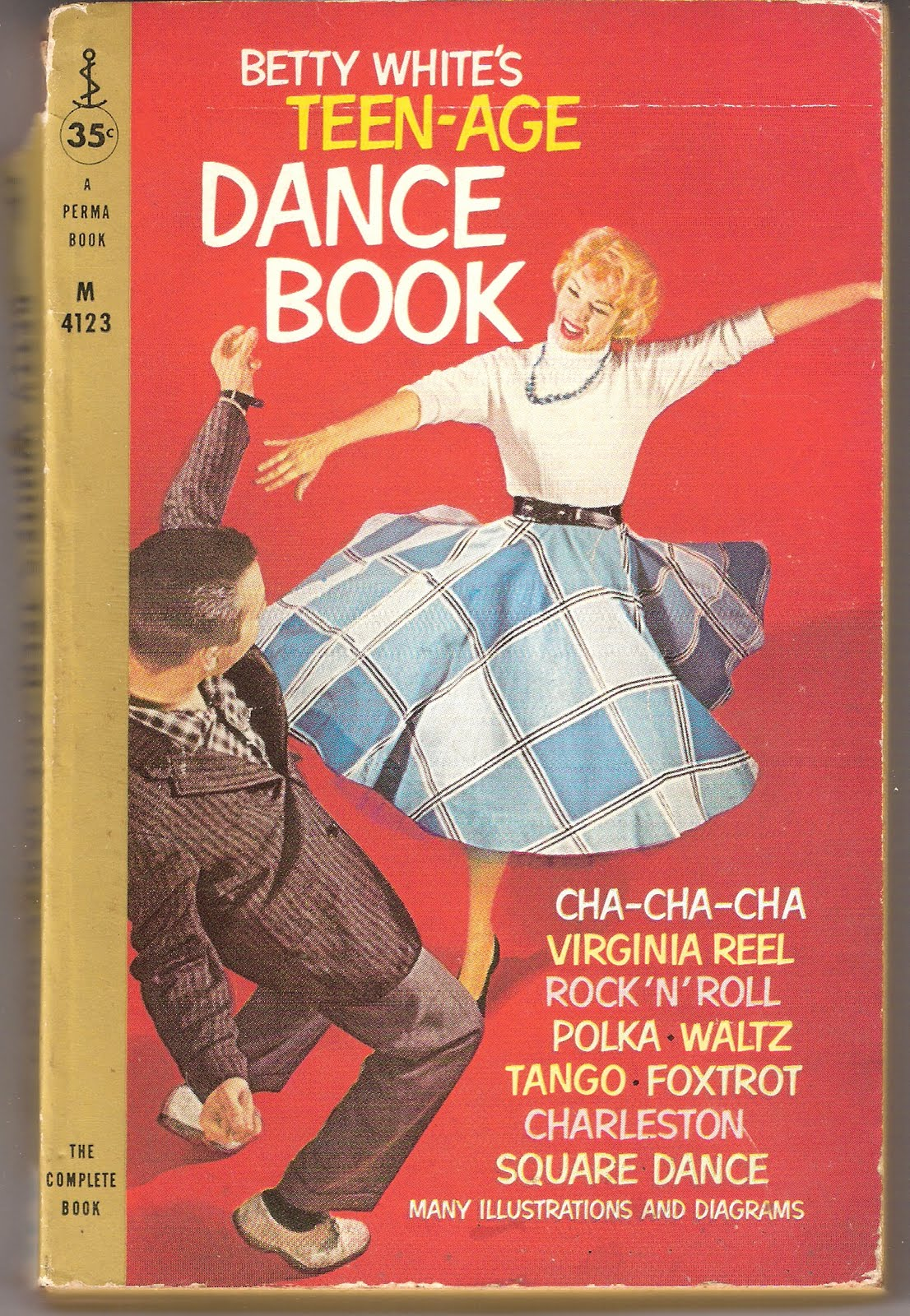 The Knackand How To Get It Betty Whites Teen Age Dance Book Steps In Addition Waltz On Tango Diagram No Apparently This White Was A Teacher New York Fifties Edition Of
