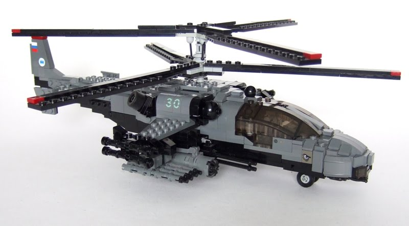 how to build a helicopter out of legos