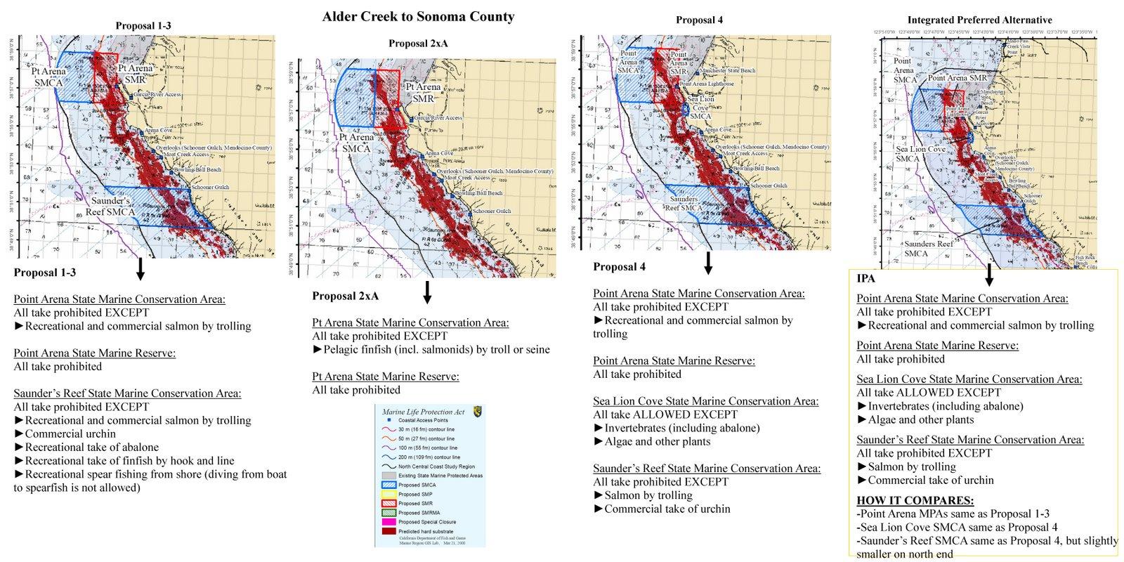 Alder Creek to Sonoma County