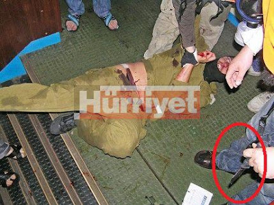Hurriyet%2520soldier%2520beaten%25201 Reuters Doctors Images to Make Israel Look Bad
