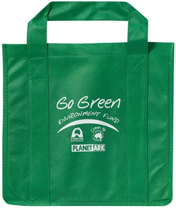 the reusable grocery bags,