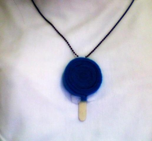 kalung dari kain flanel