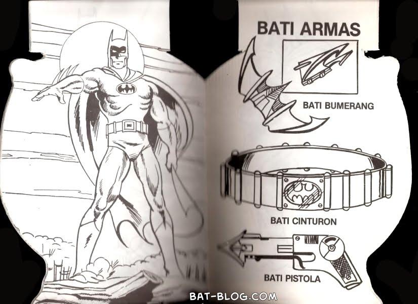Batman Wallpaper Media Vintage BATMAN Coloring Book From