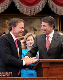 "As Texas Sinks Under A $27 Billion Deficit, Perry Offers Rosy ""State of The State"" Address..."