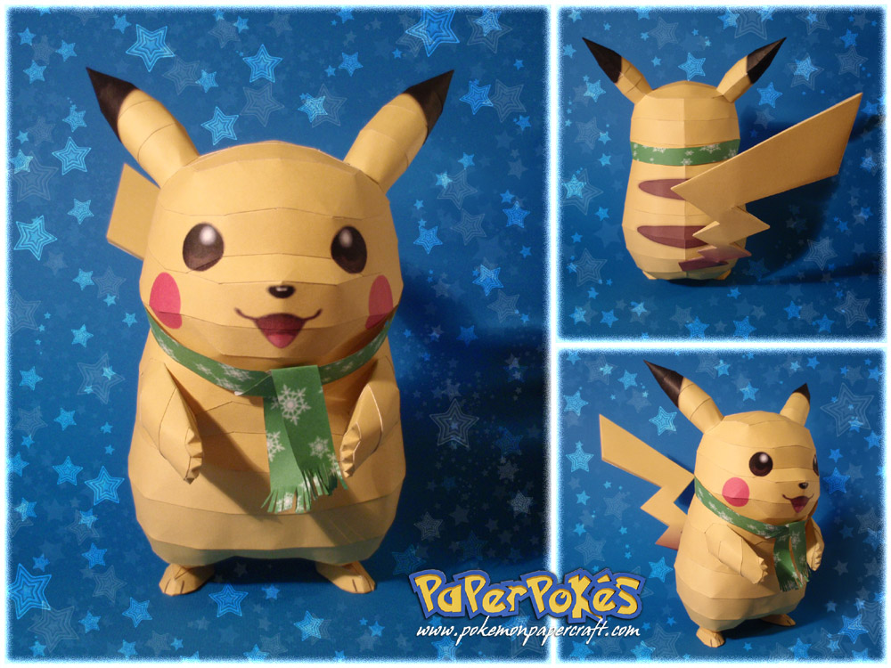 Paperpokés - Pokémon Papercraft: PIKACHU v2