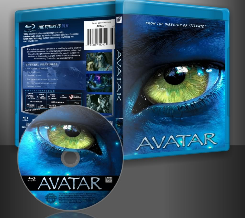 Avatar 2 Hd: Avatar.2009.Bluray.1080p.DTSMA.AVC-FraMeSToR