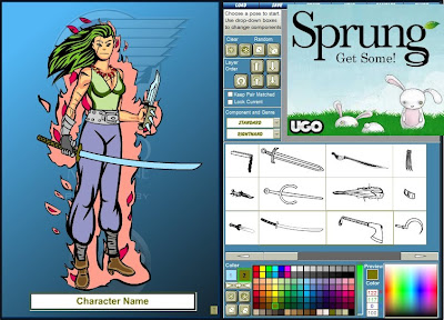 Crear o diseñar personajes de cómic