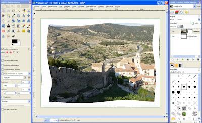 Tutorial GIMP - Bordes o marcos para una imagen