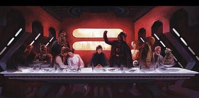 La última cena - Star Wars