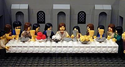 La última cena - Lego