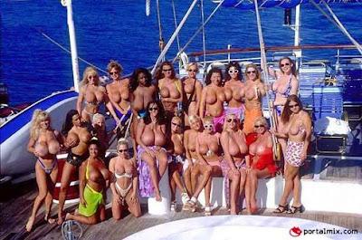 Vacaciones 'picantes' en el mar