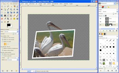 Tutorial GIMP - Efecto Fuera del marco
