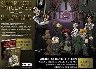 Sherlock Holmes y los Irregulares