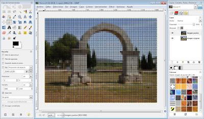 Tutorial GIMP: crear imagen de puntos