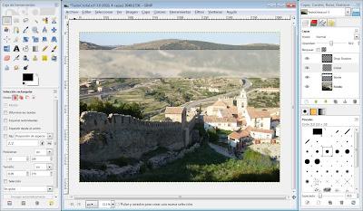 Tutorial GIMP: crear un texto estilo cristal