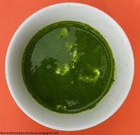 afbeelding soep van rucola knalgroene soep