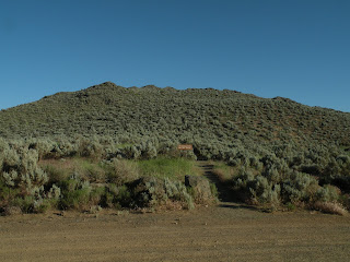Lava Beds National Monument, Petroglyph Bluff Trail