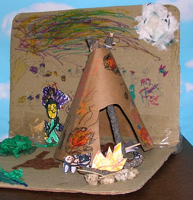 Native American Diorama Ideas http://yollisclassblog.blogspot.com/2009_03_01_archive.html