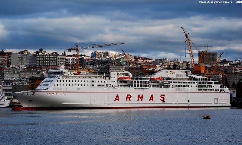 Yeyo cruisers naviera armas presenta oficialmente el for Horario oficina naviera armas las palmas