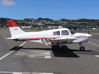Canterbury Aero Club, Piper PA28-140, ZK-EBM