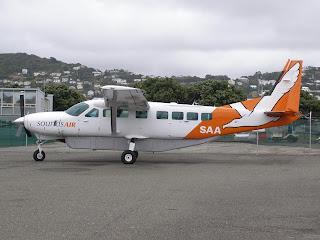 Cessna C208B Grand Caravan, ZK-SAA, Sounds Air