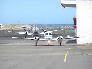 Piper PA-31 Navajo, ZK-JGA, Air Manawatu