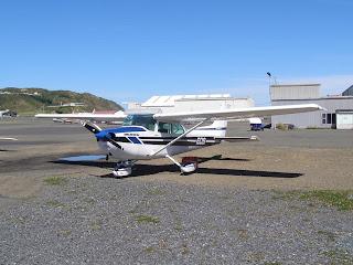 Cessna 172N, ZK-EOS, Hawera Aero Club
