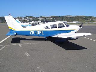 Piper PA28-180, ZK-DFL, Kapiti Aero Club