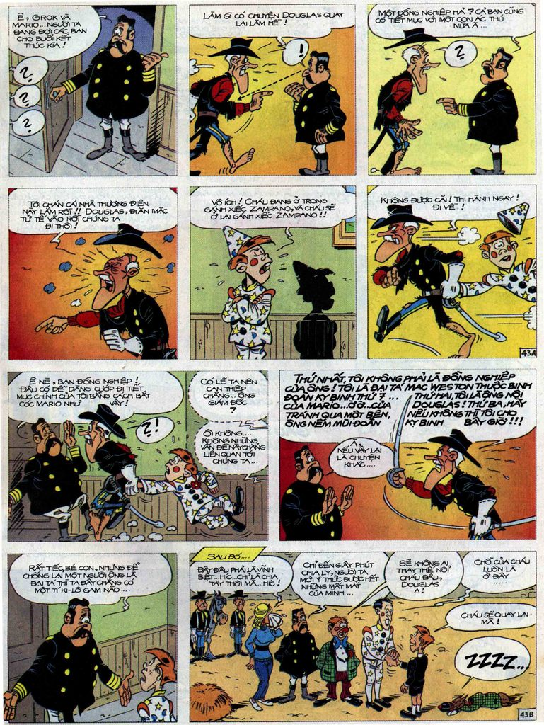 Lucky Luke Chap 71 - Trang 43