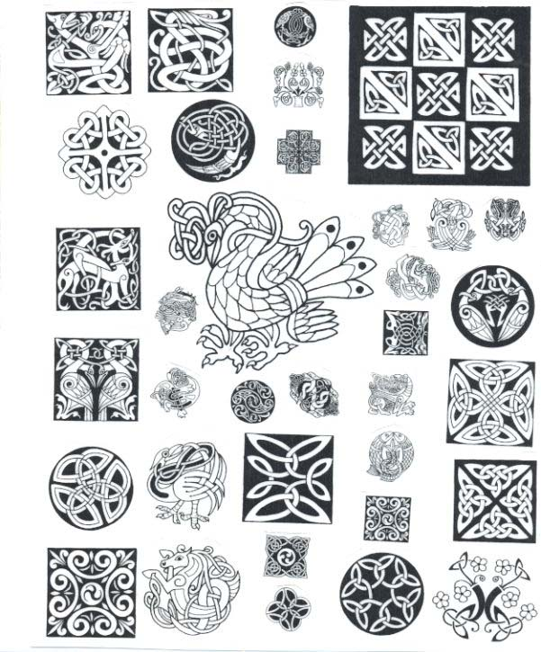 gaelic tattoo designs. Celtic design tattoos are