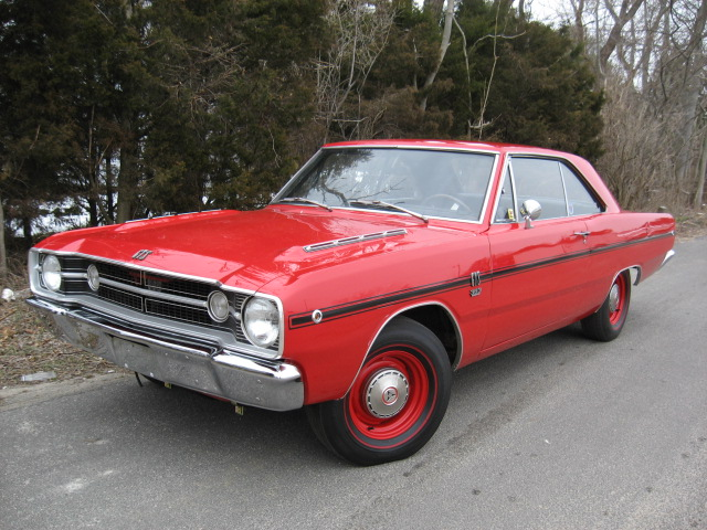 Muscle Cars America Pictures Dodge Dart GTS 1968 LUXURY