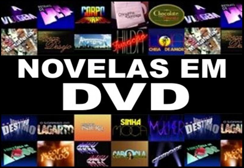 NOVELAS EM DVD