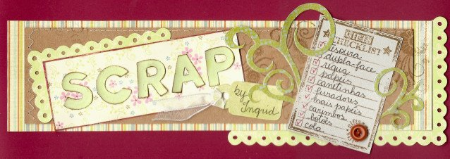 SCRAP BY INGRID