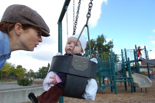 Bea&#39;s First Swing