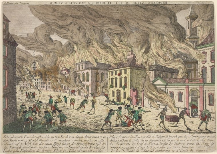 Inside The Apple The Great Fire Of 1776